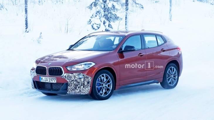 «Заряженный» кроссовер BMW X2 M35i