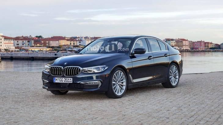 Седан BMW 3-Series нового поколения