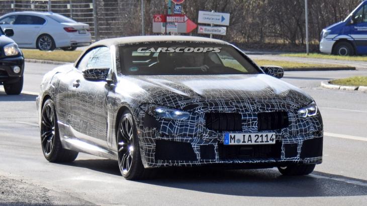 Тестовый прототип «заряженного» кабриолета BMW M8 Convertible