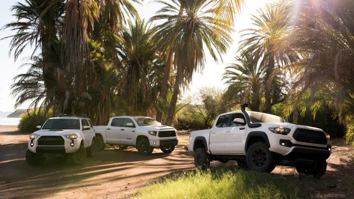 Toyota 4Runner TRD Pro, Toyota Tundra TRD Pro и Toyota Tacoma TRD Pro