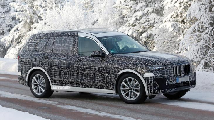 Тестовый прототип внедорожника BMW X7
