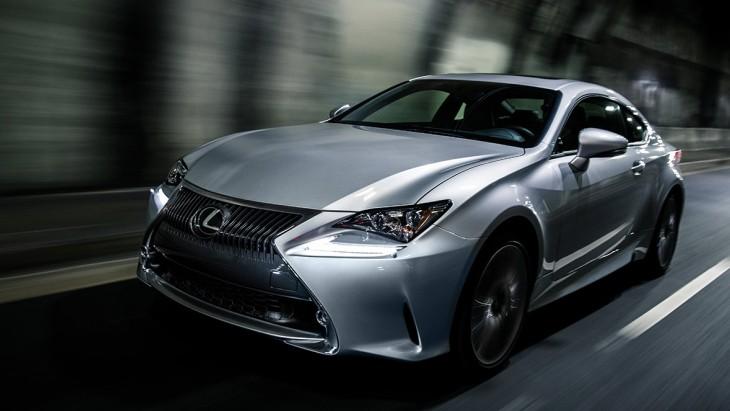 Купе Lexus RC Coupe
