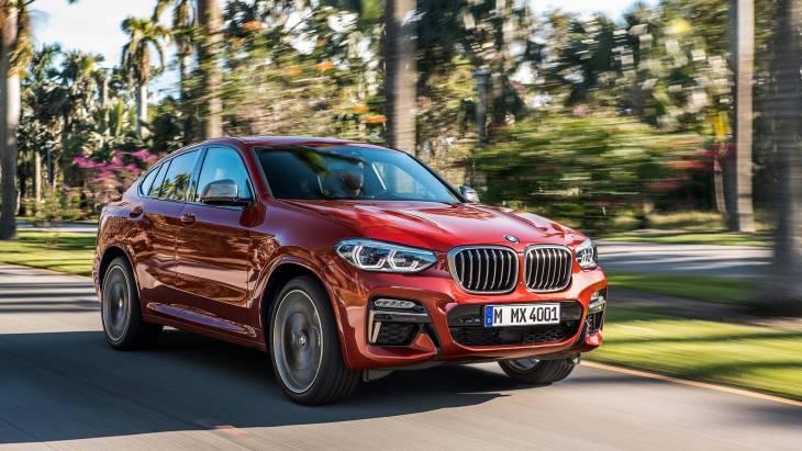 Кроссовер BMW X4 2019 модельного года