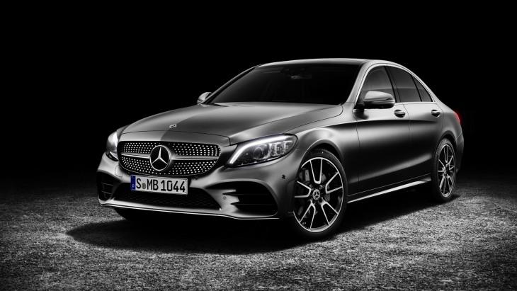 Обновлённый Mercedes-Benz C-Class 2019 модельного года
