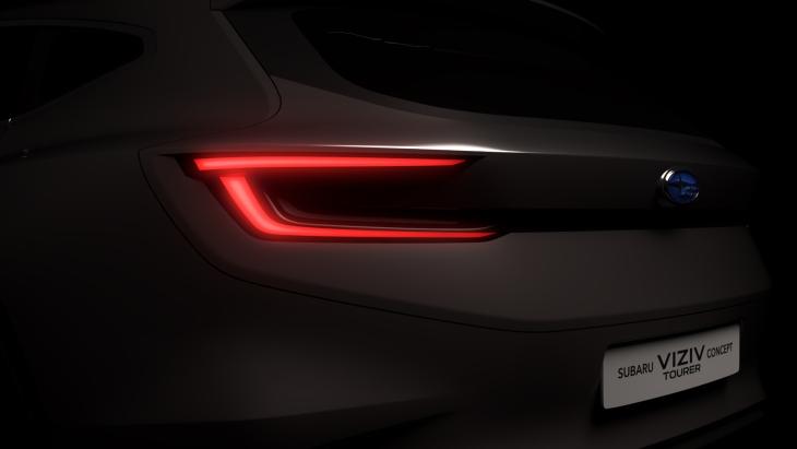 Тизер концепта Subaru VIZIV Tourer Concept