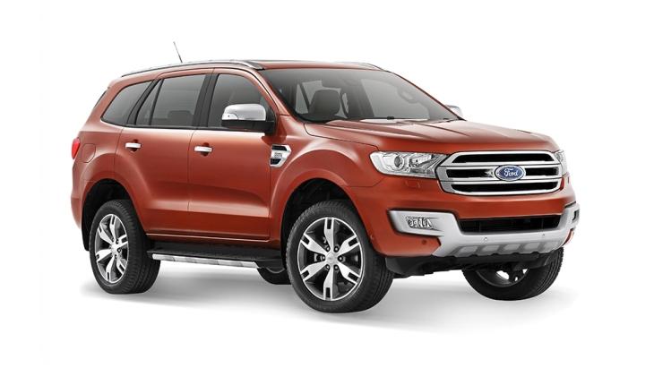 Внедорожник Ford Everest