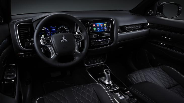 Посвежевший» гибрид: Mitsubishi обновила кроссовер Outlander PHEV - новости