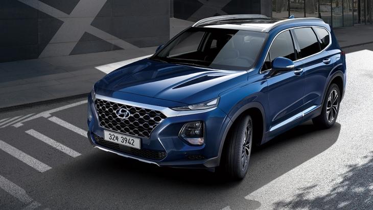 Внедорожник Hyundai Santa Fe нового поколения