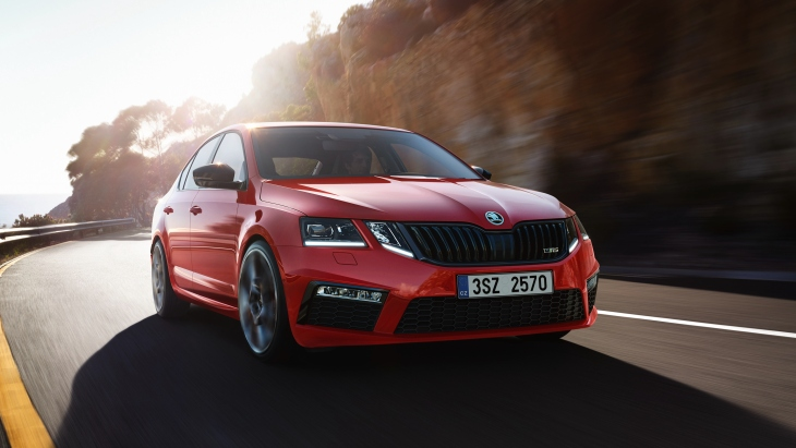 «Заряженная» Skoda Octavia RS 245 Challenge Plus Package
