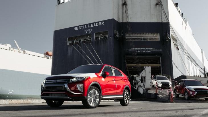 Первая партия Mitsubishi Eclipse Cross в США