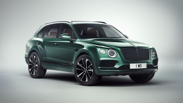 Внедорожник Bentley Bentayga by Mulliner Inspired by The Festival
