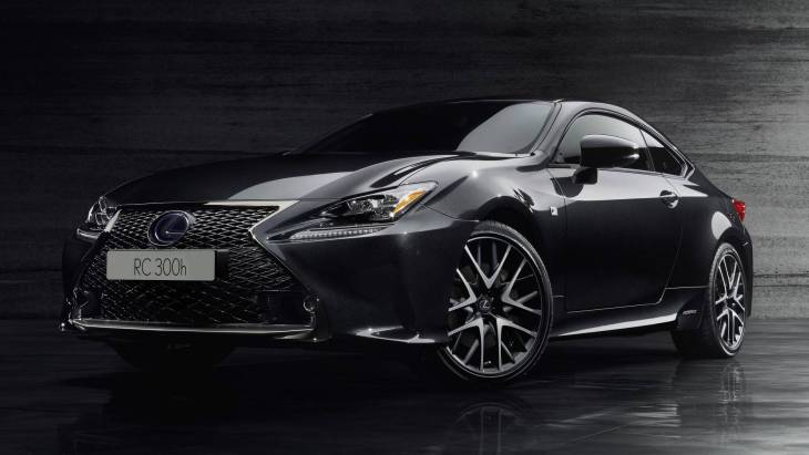 Купе Lexus RC 300h F Sport Black Edition
