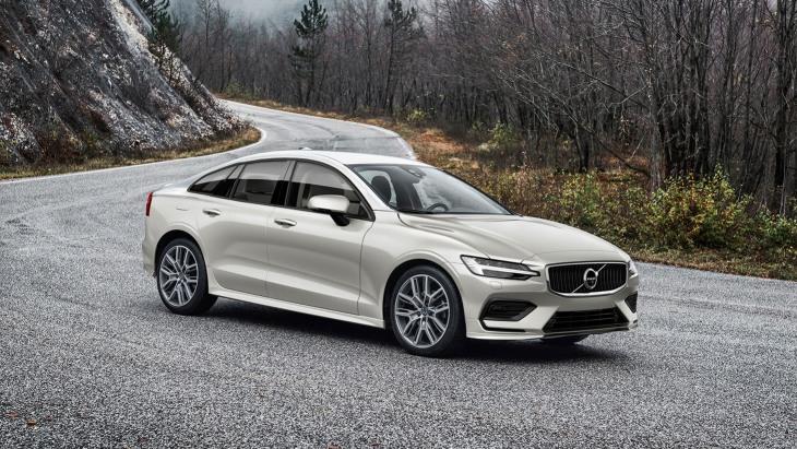 Независимый рендер седана Volvo S60 нового поколения