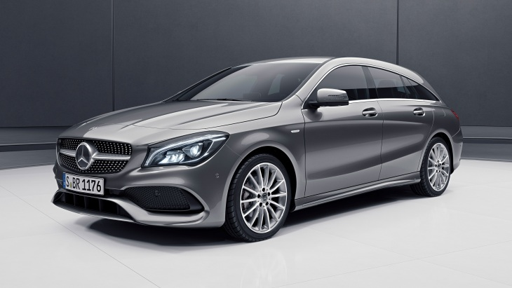 Универсал Mercedes-Benz CLA Shooting Brake Night Edition