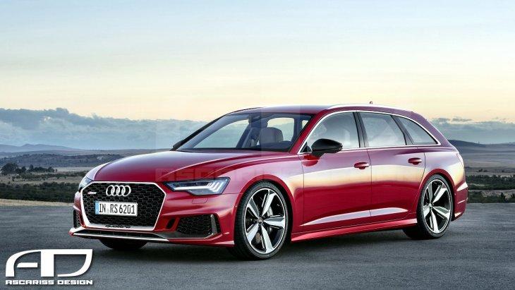 «Заряженный» универсал Audi RS6 Avant нового поколения
