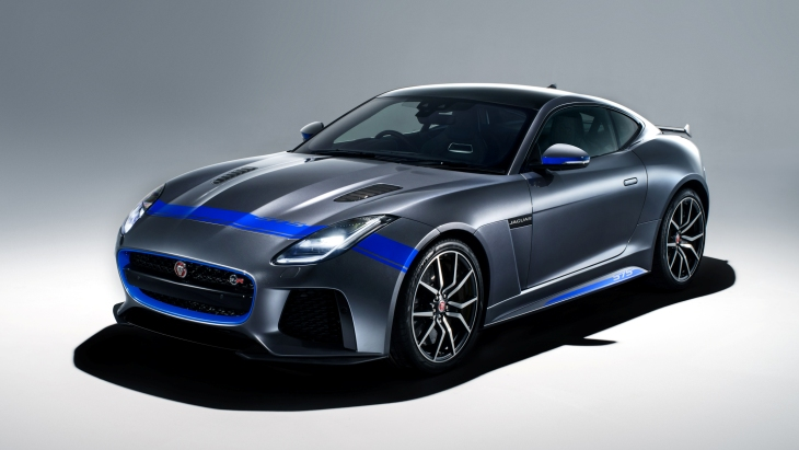 «Заряженное» купе Jaguar F-Type SVR Graphic Pack Coupe
