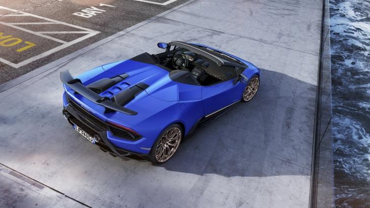 «Чумовой кабриолет»: Lamborghini представила открытый Huracan Performante