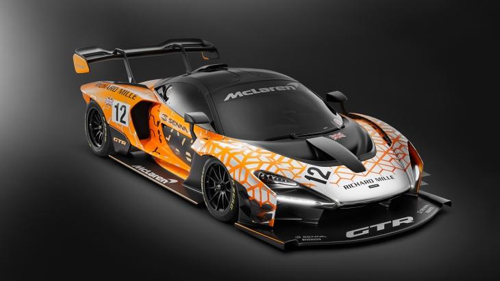 Трековый гиперкар: в Женеве показали купе McLaren Senna GTR
