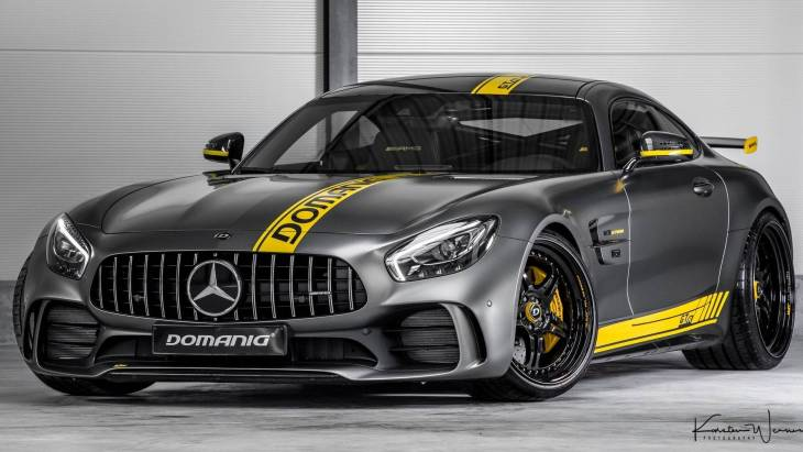 769-сильное купе Mercedes-AMG GT R by Domanig Autodesign
