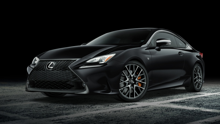 Купе Lexus RC Coupe Black Line Special Edition