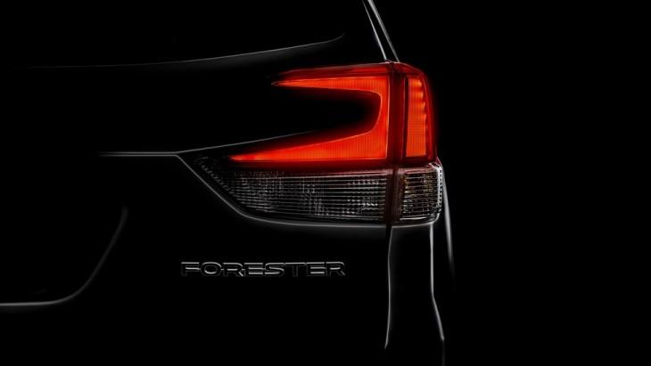 Тизер Subaru Forester нового поколения