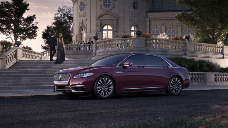 Седан Lincoln Continental