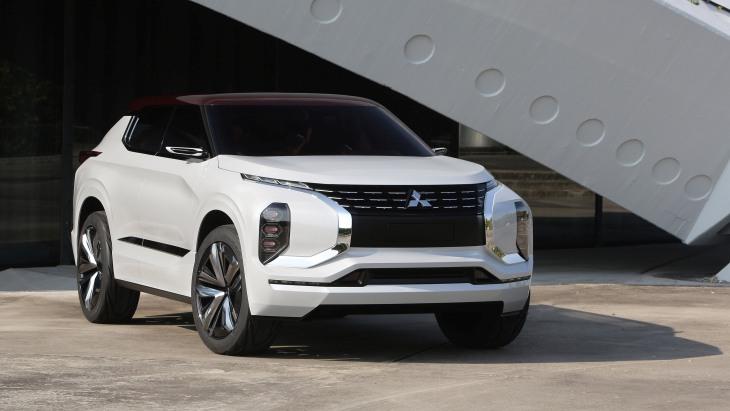 Концептуальный кроссовер Mitsubishi GT-PHEV Concept