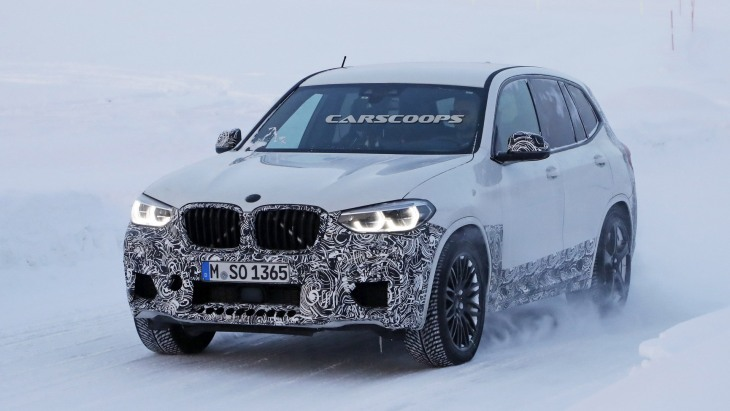 Тестовый прототип «заряженного» BMW X3 M
