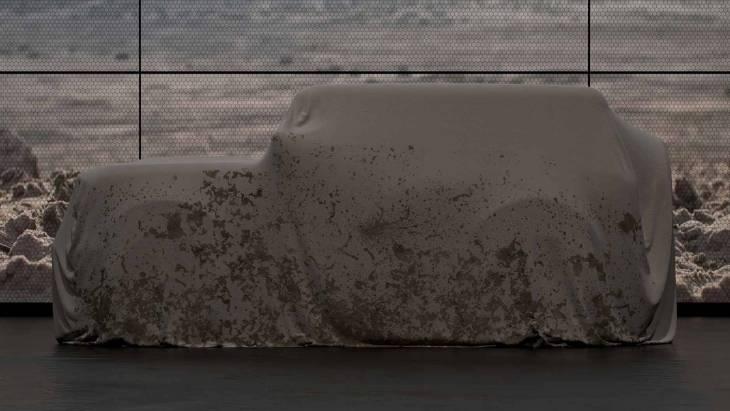 Тизер возрождённого внедорожника Ford Bronco