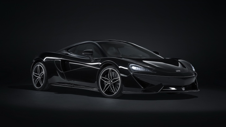 Купе McLaren 570GT MSO Black Collection