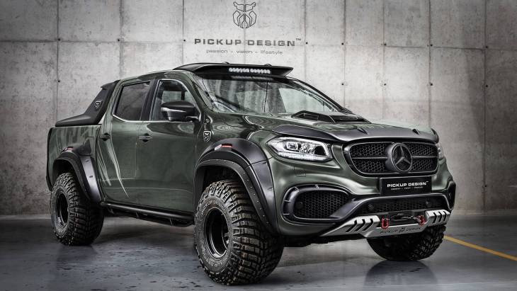 Пикап Mercedes-Benz X-Class Off-Road by Carlex Design