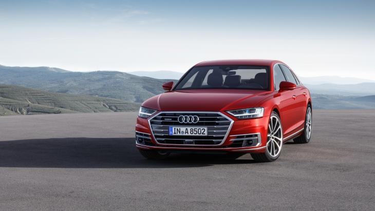 Флагманский седан Audi A8 нового поколения D5