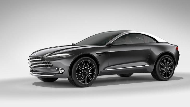 Концептуальный кроссовер Aston Martin DBX Concept