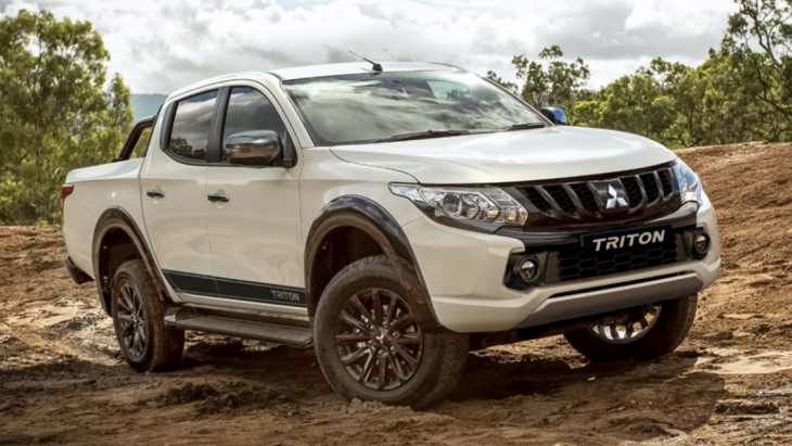 Пикап Mitsubishi Triton Blackline Limited Edition