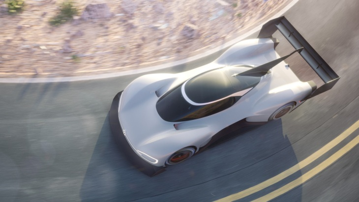 Volkswagen показал электрический спортпрототип I.D. R Pikes Peak