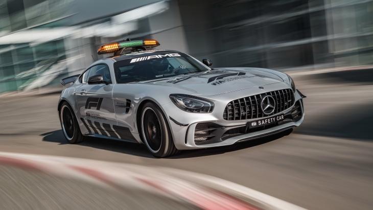 Пейс-кар Mercedes-AMG GT R