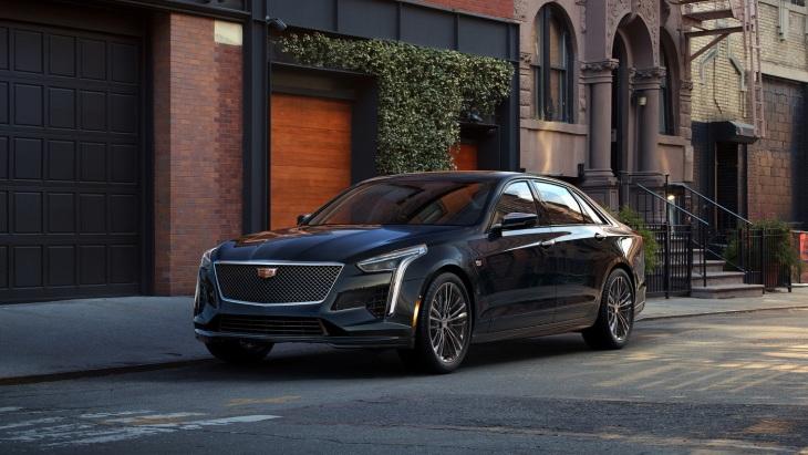 «Заряженный» седан Cadillac CT6 V-Sport 2019 модельного года