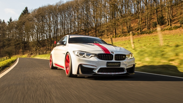 550-сильное купе BMW M4 Coupe by Manhart Racing