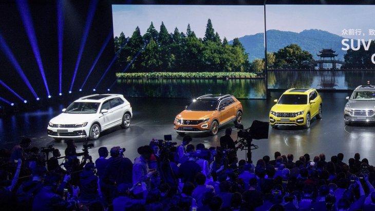 Новые кроссоверы компании Volkswagen