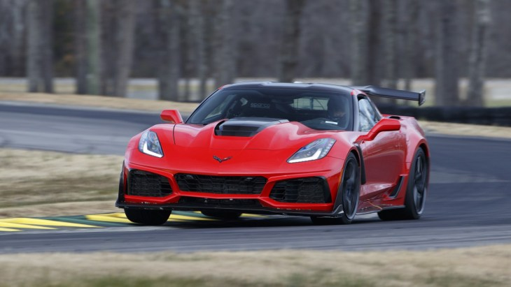 Купе Chevrolet Corvette ZR1