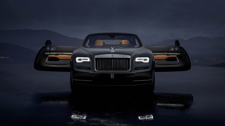 Эксклюзивное купе Rolls-Royce Wraith Luminary Edition