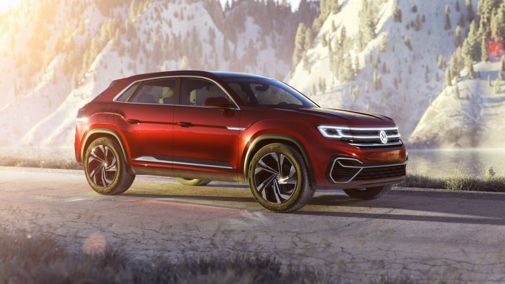 Концептуальный кроссовер Volkswagen Atlas Cross Sport Concept