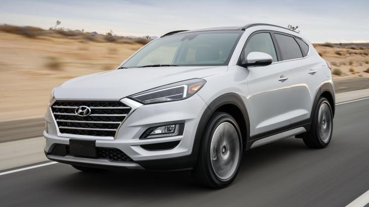Обновлённый кроссовер Hyundai Tucson 2019 модельного года