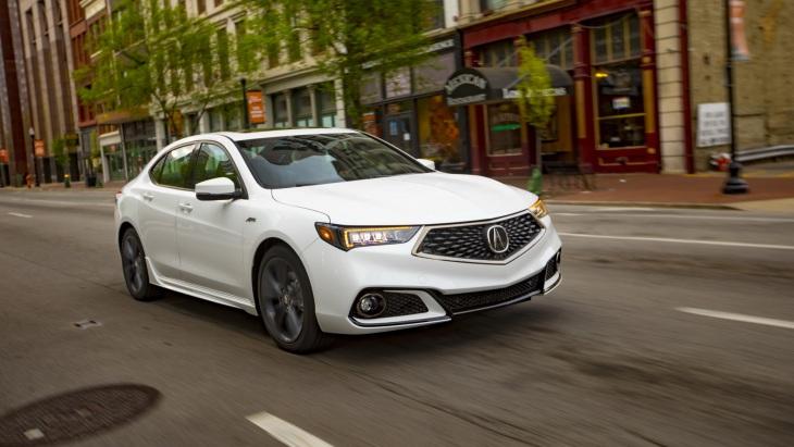 Обновлённый седан Acura TLX 2019 модельного года