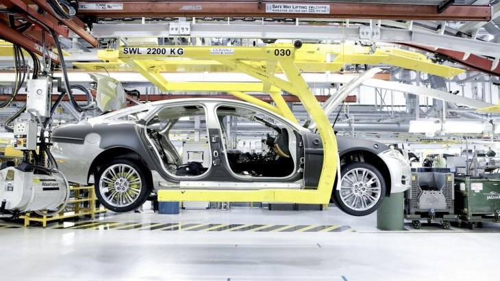 Производство автомобилей Jaguar Land Rover