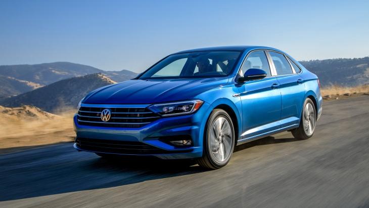 Седан Volkswagen Jetta нового поколения