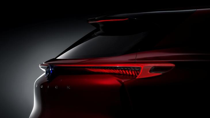 Тизер электрического внедорожника Buick Enspire Concept