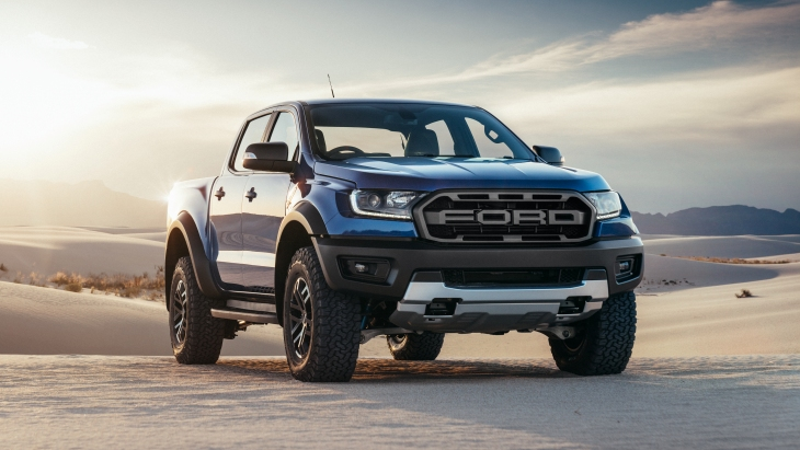 Пикап Ford Ranger Raptor