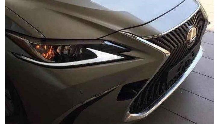 Седан Lexus ES нового поколения