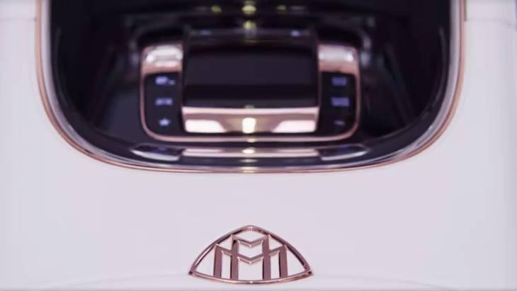 Тизер новой модели Mercedes-Maybach